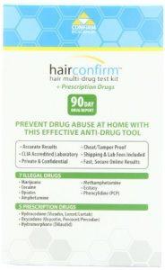 HairConfirm Hair Drug Test Kit Images