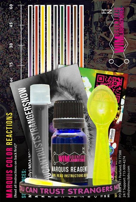 Marquis Test Kit Drug Testing Kits