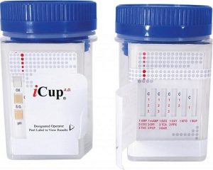 Images of iCup Drug Testing Results